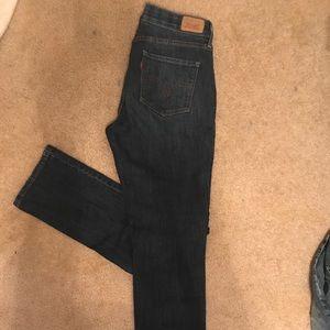 """Levi Strauss"" perfect waist straight leg size 10M"
